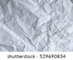 wrinkled paper white background ...   Shutterstock . vector #529690834