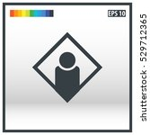 user icon design template   Shutterstock .eps vector #529712365