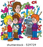 algebra lesson | Shutterstock . vector #529729