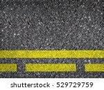 asphalt road texture with...   Shutterstock . vector #529729759