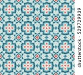 ethnic tribal seamless pattern  ... | Shutterstock . vector #529729939