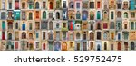 Small photo of sampler of 100 doors allover in europe
