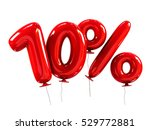 10  discount made of red... | Shutterstock . vector #529772881