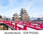 old castle in japan. matsumoto...   Shutterstock . vector #529793281