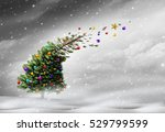concept of christmas holiday...   Shutterstock . vector #529799599