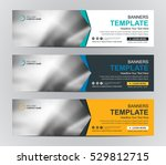 abstract banner design... | Shutterstock .eps vector #529812715