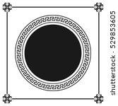 greek style ornamental...   Shutterstock .eps vector #529853605