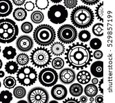 isolated gears design | Shutterstock .eps vector #529857199