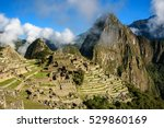 view of the lost incan city of... | Shutterstock . vector #529860169