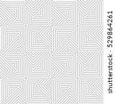 vector seamless pattern. modern ... | Shutterstock .eps vector #529864261