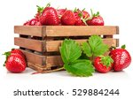 fresh berries strawberry in... | Shutterstock . vector #529884244