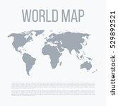 vector illustration of a world... | Shutterstock .eps vector #529892521