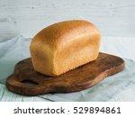 Loaf Of Bread On Cutting Board...