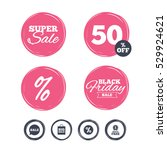 super sale and black friday... | Shutterstock .eps vector #529924621