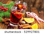 christmas drink | Shutterstock . vector #529927801