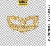 gold glitter vector icon of...   Shutterstock .eps vector #529935679