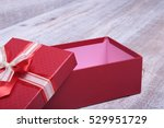 Open Gift Box  Isolated On The...