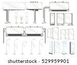 set vector illustrations of... | Shutterstock .eps vector #529959901