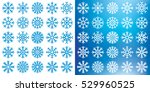 Vector Snowflakes Mega Set On...