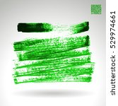 brush stroke and texture.... | Shutterstock .eps vector #529974661