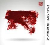 brush stroke and texture.... | Shutterstock .eps vector #529975435