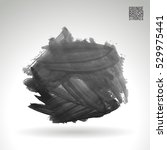 brush stroke and texture.... | Shutterstock .eps vector #529975441