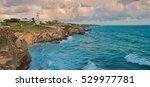 beautiful rocks at sunrise in... | Shutterstock . vector #529977781