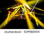 geometrical concert lights ... | Shutterstock . vector #529980454