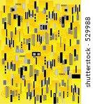 geometric pattern wallpaper or... | Shutterstock .eps vector #529988