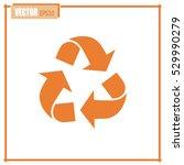 recycle vector sign | Shutterstock .eps vector #529990279