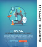 education and science concept... | Shutterstock .eps vector #529996711
