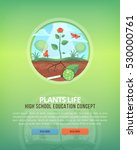 education and science concept... | Shutterstock .eps vector #530000761