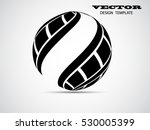 abstract geometrical logo.... | Shutterstock .eps vector #530005399
