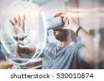 concept of digital screen... | Shutterstock . vector #530010874