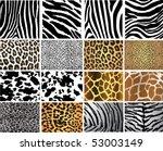 highly detailed animal skin...