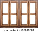 Wooden Window Background