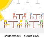 dining tables for date inside... | Shutterstock .eps vector #530051521
