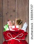 Santa Claus Bag Full By Present ...