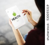 health care healthy life concept | Shutterstock . vector #530055319