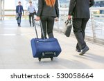 business people at rush hour... | Shutterstock . vector #530058664