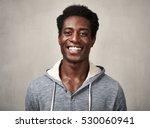 happy black man. | Shutterstock . vector #530060941
