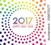 Happy New Year 2017 Surrounded...