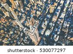 aerial view of the skyscrapers...   Shutterstock . vector #530077297