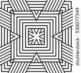 black and white geometric... | Shutterstock .eps vector #530077549