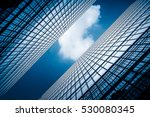 low angle view of skyscrapers... | Shutterstock . vector #530080345