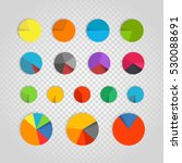 infographic elements collection.... | Shutterstock .eps vector #530088691
