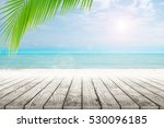 old wood table top on blurred... | Shutterstock . vector #530096185