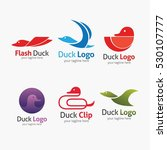duck logo design template.... | Shutterstock .eps vector #530107777