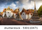 panorama of ancient stupas and... | Shutterstock . vector #530110471