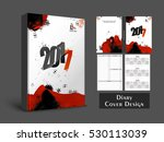 personal organiser  diary or... | Shutterstock .eps vector #530113039